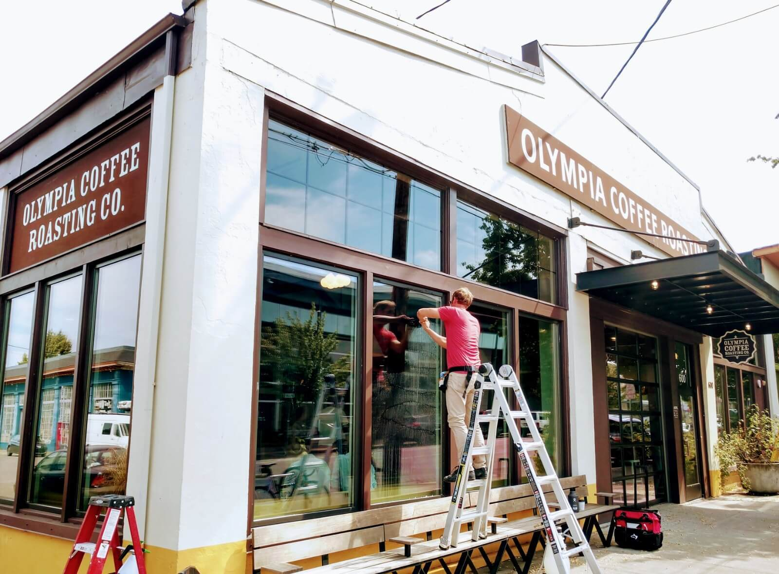 Security Film Olympia Coffee Roasters